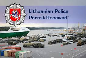 [Translate to English:] Lietuvos policija