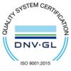 DNV Gl ISO 9001:2015 Logo